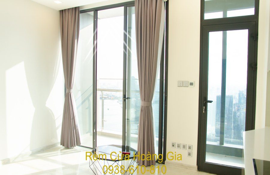 Rèm cửa chung cư vinhomes rèm vải đẹp chống nắng cao cấp bình thạnh