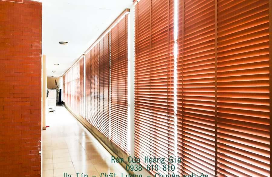 Rèm sáo gỗ mẫu rèm cửa cao cấp sang trọng thành phố hồ chí minh