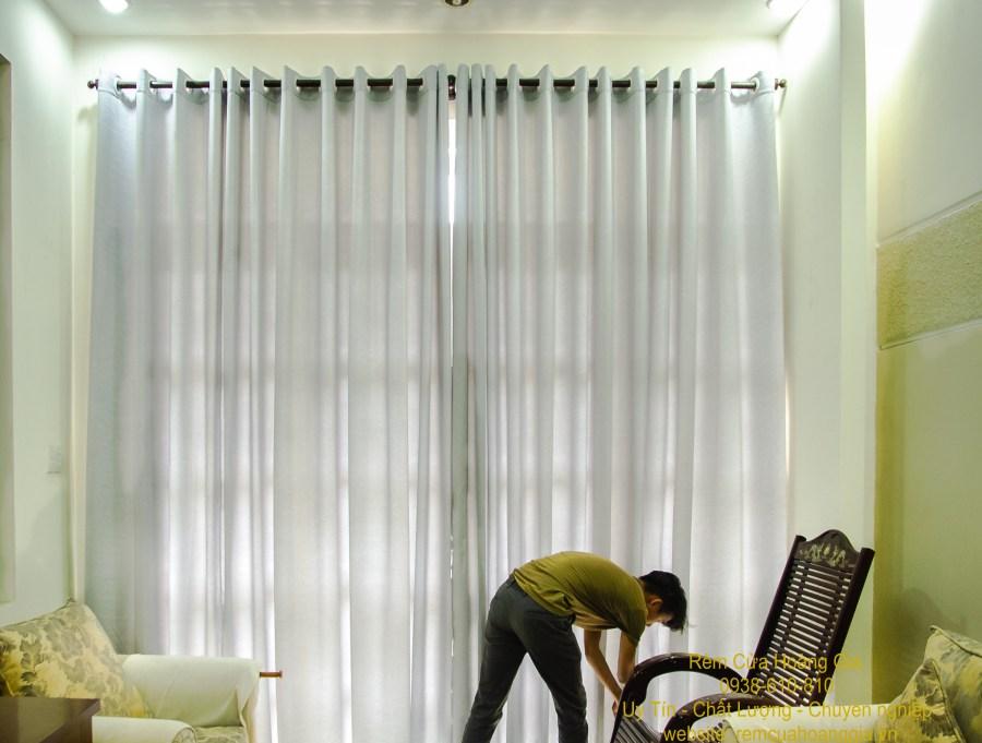 rèm vải chống nắng quận 9 mẫu rèm vải đẹp