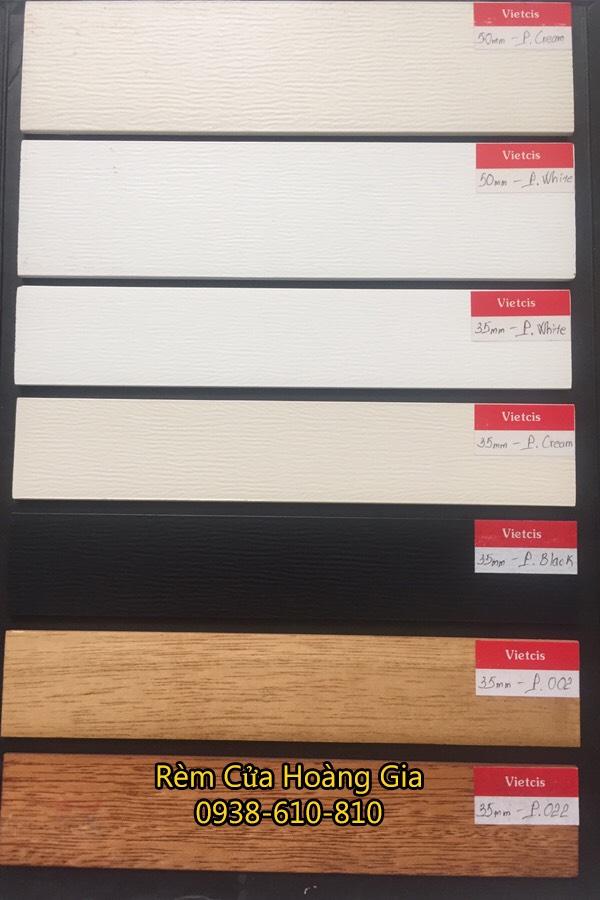 mẫu rèm sáo gỗ giá rẻ tphcm