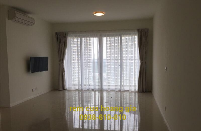 rèm vải chống nắng chung cư estella
