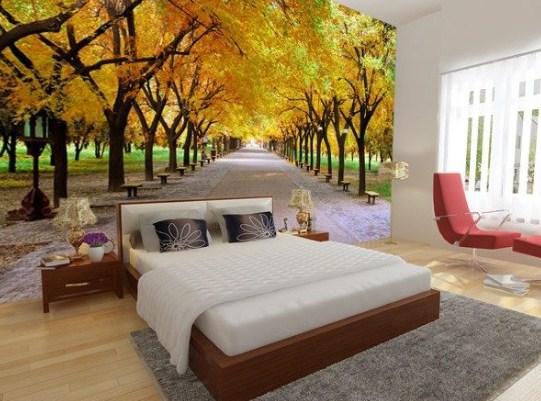 Tranh dán tường 3d phòng ngủ chọn như thế nào cho phù hợp?