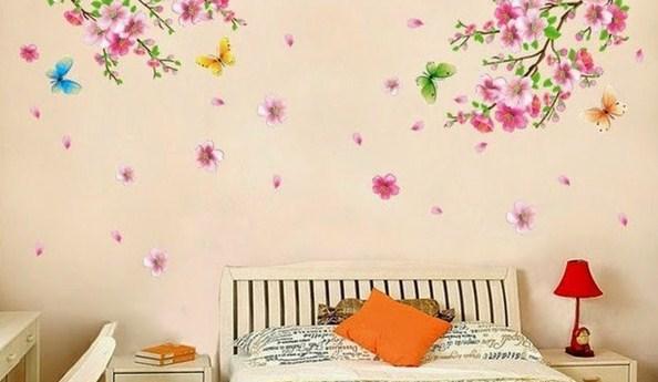 tranh hoa lá 3d PN